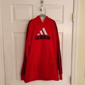 Adidas Hoodie Sweatshirt - Size L (boys)